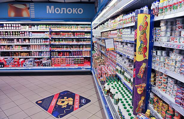 Правительство РФ запретило продавать молоко на одних полках с другими продуктами