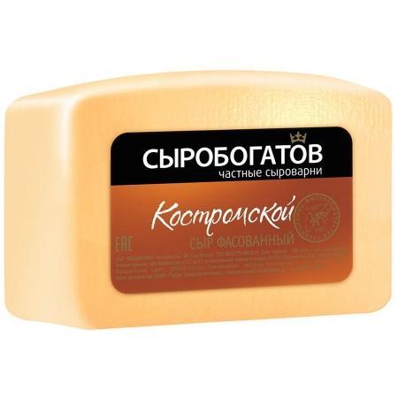Контрольная закупка. Сыр Костромской.