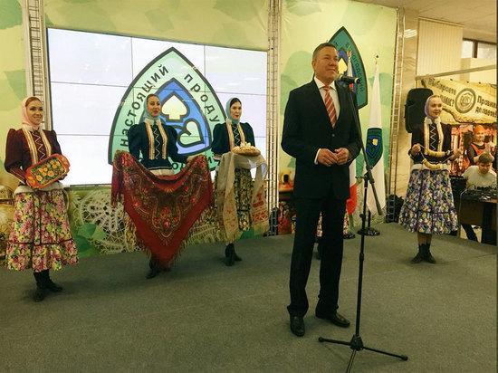 Юбилейная выставка «Настоящий Вологодский продукт» открылась в Вологде
