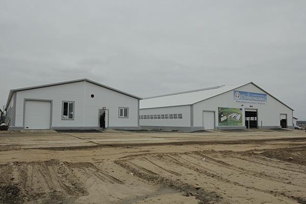 В Тотемском районе строят современную ферму на 712 скотомест