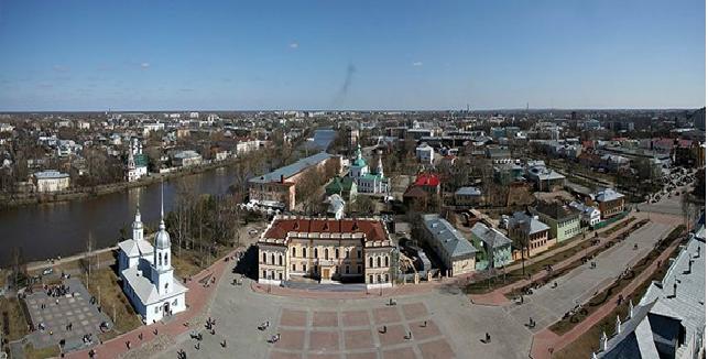 Вологда – это город в России