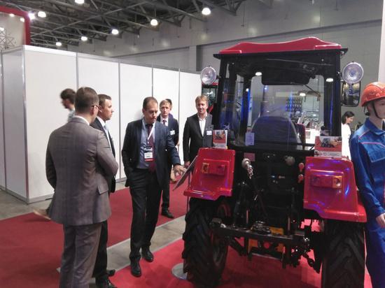 Продукция вологодских производителей представлена на Международной специализированной выставке «Импортозамещение» в Москве