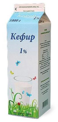 Кефир 1%