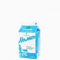 Молоко 2,5% 470 мл.
