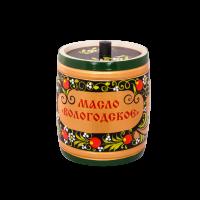 Масло сливочное Вологодское в сувенирной упаковке