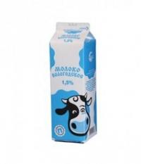Молоко питьевое пастеризованное ГОСТ 1,5%
