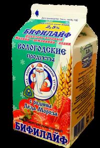 Бифилайф 2,5% фруктово-ягодный