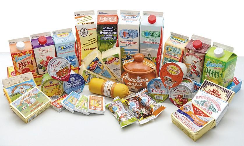 Натуральные Вологодские молочные продукты