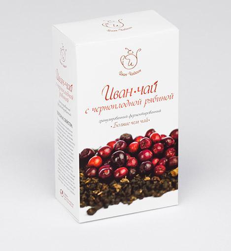 Иван-чай с черноплодной рябиной