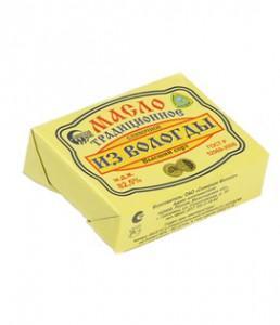 Масло традиционное фасованное 82,5%