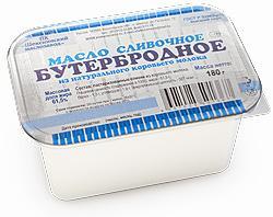 """Масло сливочное """"бутербродное"""" 350 гр."""