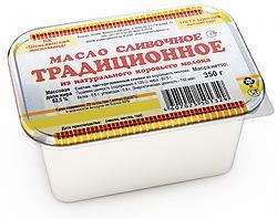"""Масло сливочное """"Крестьянское"""" 82,5%, 350 гр."""