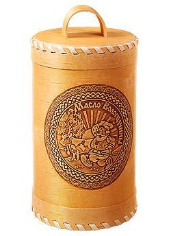 """Масло сливочное """"традиционное"""" туес 300 гр."""