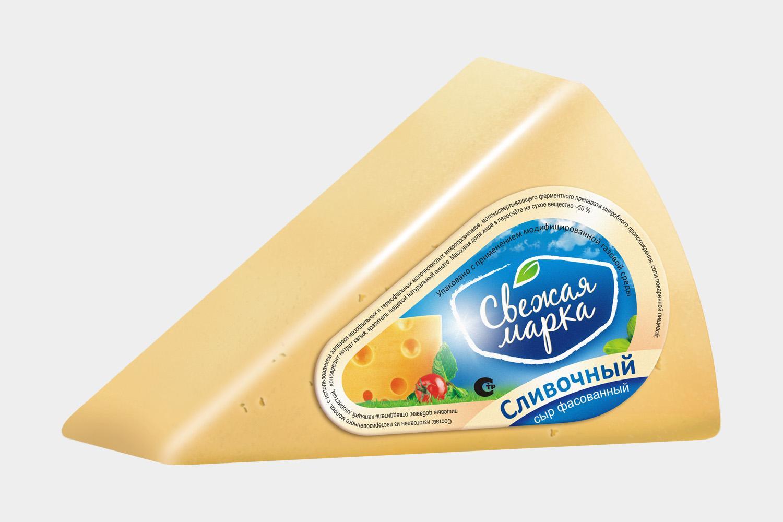 """Сыр """"Сливочный"""" фасованный"""