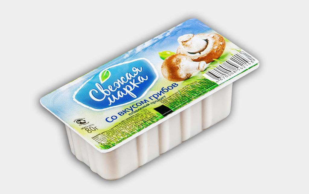 """Плавленый продукт """"Со вкусом грибов"""""""