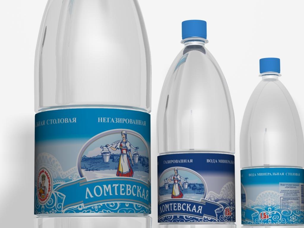 Вода питьевая Ломтевская